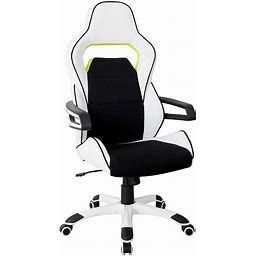 Techni Mobili Ergonomic Essential Racing Style Home & Office Chair,...
