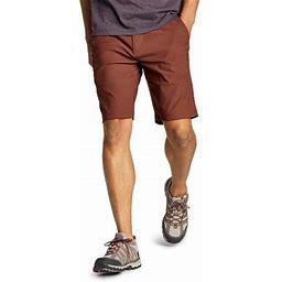 Eddie Bauer Men's Horizon Guide 10 Inch Chino Shorts, Size: 44 Regular, Brown