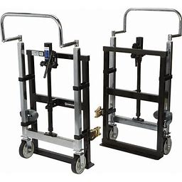 Strongway Hydraulic Furniture Mover Set - 3960-Lb. Capacity, 10Inch Lift