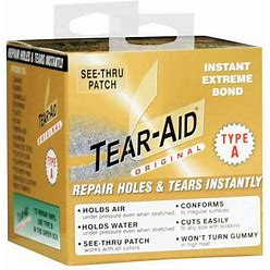 Tear-Aid Hypalon Inflatable Boat Repair Kit