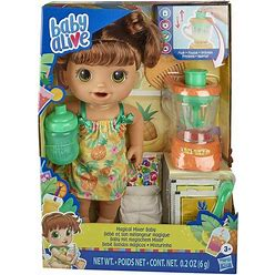 Baby Alive Magical Mixer Baby Doll Tropical Treat With Blender