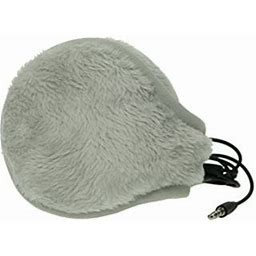 180s Women's Ear Warmers With Quantum Sound - Lush Fleece, Size: One Size, Gray