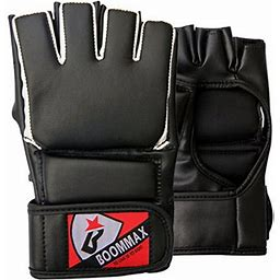 Mma Training Gloves | Grappling Gloves | Protective Gloves | MMA Gloves, Adult Unisex, Size: One Size, Black