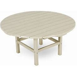 POLYWOOD® Plastic/Resin Coffee Table In Brown   Size 18.0 H X 38.0 W X 38.0 D In   PO1398_3948896