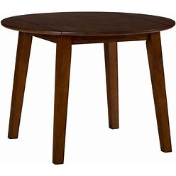 Jofran Furniture Simplicity Caramel 5Pc Round Dining Set With X Back Chair