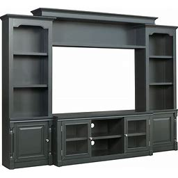 Virginia Charcoal Entertainment Center By Coleman Furniture - Gray, From Coleman Furniture