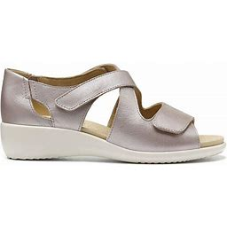 Riga Sandals - Mauve Metallic Extra Wide Fit 10