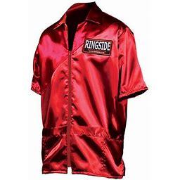 Ringside Stock Cornerman Jacket Regular/Large Red, Adult Unisex