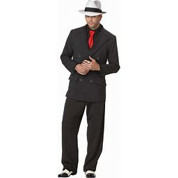 California Costumes Men's Mob Boss Adult