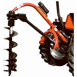 Speeco S24044000 76 X 28.5 In. Model 65 Post Hole Digger, Size: 76 X 28.5 X 12.25