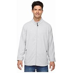 Ash City North End North End Men's Microfleece Unlined Adjustable Jacket, Style 88095, Size: 2XL, White