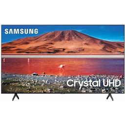 Samsung 50 Inch Class 4K Crystal UHD (2160p) LED Smart TV With HDR Un50tu7000 2020 Size: 50 Inch, Gray