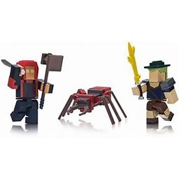 Roblox Action Collection - Fantastic Frontier Game Pack [Includes Exclusive Virtual Item], Size: Standard Package, Red