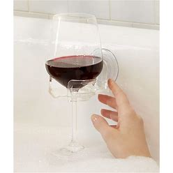 Sipcaddy Shower Beer And Bath Wine Holder! Portable Cupholder Shower Caddy Drink Holder For Beer & Wine, American-Made Suction Cup, The Original -