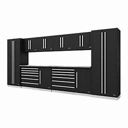 Fusion Pro 10-Piece Tool Cabinet System (Silver) 75001K