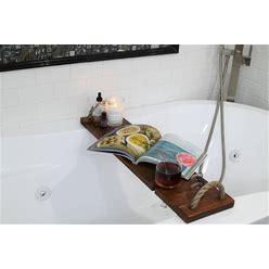 Handmade Wooden Bath Tray/ Wood Bathtub Board/ Wine Rack/ Spa/ Valentines/ Anniversary/ Bath Caddy/ Bathroom Decor/ Phone Holder Wine Holder
