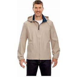 North End Men's Zipper Techno Lite Jacket, Style 88083, Size: 3XL, Gray