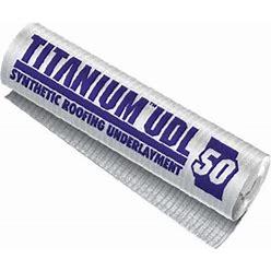 Titanium UDL 50 Synthetic Underlayment Single Roll
