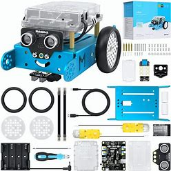 Makeblock Mbot Coding Robot Kit, Learning & Educational Toys For Kids To Learn Robotics, Electronics And Programming While Playing, Educational
