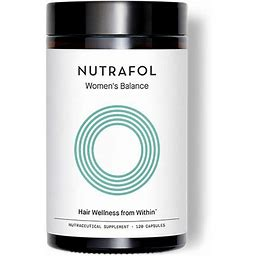 Nutrafol Womens Balance Hair Growth Supplement For Thicker, Stronger Hair Peri- And Postmenopause (1 Month Supply)