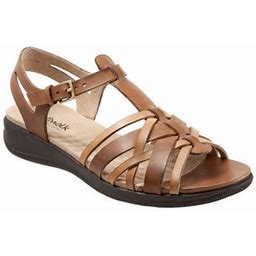 Women's SoftWalk Taft T Strap Sandal, Size: 6, Brown