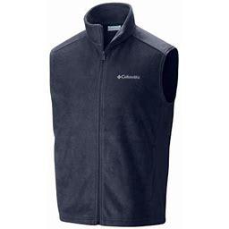 Columbia Men's Steens Mountain Fleece Vest - Tall - 4XT - Navy Blue