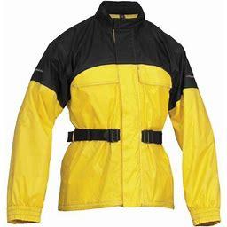 Firstgear Rainman Jacket, Adult Unisex, Size: XL, Black