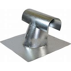 4 In. Galvanized T-Top Roof Vent Standard Base, From Best Materials