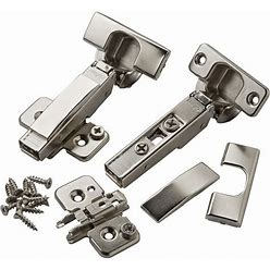 Full Overlay Blum 120° Clip Top Snap Close Hinges, Pair By Rockler