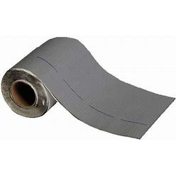 MFM Peel & Seal Self Stick Roll Roofing 4 Inch - Gray - 1 Roll