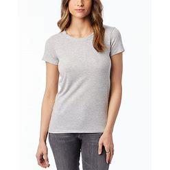 Alternative Apparel Ideal Eco-Jersey T-Shirt - Heather Gray