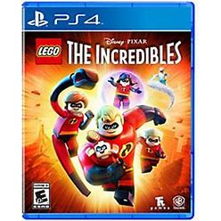LEGO The Incredibles Game For PS4