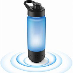 ICEWATER 3-In-1 Smart Water Bottle(Glows To Remind You To Stay Hydrated)+Bluetooth Speaker+ Dancing Lights,22 Oz,Stay Hydrated , Enjoy Music