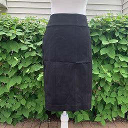 Banana Republic Skirts | Banana Republic A-Line Skirt Size 6 Tall | Color: Black | Size: 6 Tall