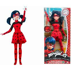 Miraculous Ladybug Daring Fashion Doll Action Figure 10.5 In 26 Cm
