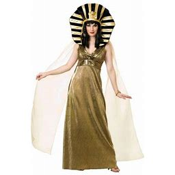 Halloween Empress Of The Nile Adult Costume, Women's, Size: Women Large (11-13), Gold