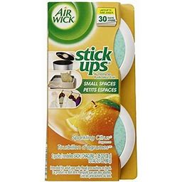 3 Twin Packs Air Wick Stick Ups Solid Air Fresheners, Sparkling Citrus Scent