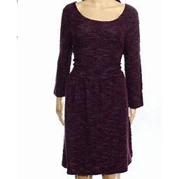 Maison Jules Womens Printed A-Line Shift Dress, Women's, Size: XS, Purple