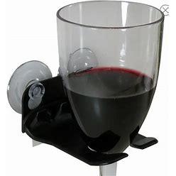 Wavehooks Dining | Wavehooks. Bathtub Wine Glass Holder. New In Box | Color: White | Size: Os