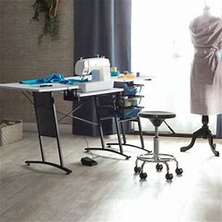 Studio Designs Studio Modern Height Adjustable Stool, Black/Chrome By Ashley Homestore, Furniture > Kitchen And Dining Room > Barstools > Set Of Two. On Sale - 55% Off