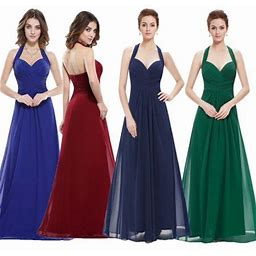 Ever-pretty Women's Sexy Sweetheart Neckline Formal Party Dresses 08487 For Women Navy Blue US 8