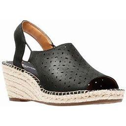Clarks Women's Petrina Gail Wedge Sandal, Size: 8.5, Black