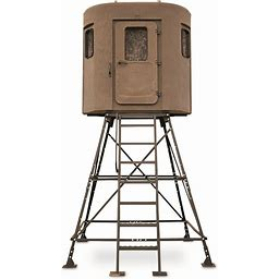 Banks Outdoors The Stump 2 Whitetail Properties Pro Hunter Hunting Blind, Size: Large