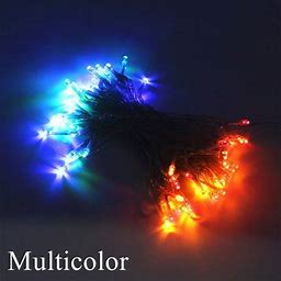 Meaddhome 1M To 10M LED String Lights Battery Operated Waterproof Fairy LED Christmas Lights For Holiday Party Wedding Decorations, Size: 1M 10Leds