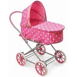 Badger Basket Polka-Dot 3-In-1 Doll Carrier, Pink