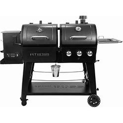 Pit Boss 1230 Wood Pellet And Propane Combo Grill