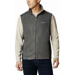 Columbia Men's Steens Mountain Fleece Vest - Tall - 3XT - Black
