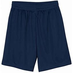 A4 Men's 9 Inch Inseam Micro Mesh Shorts - N5255, Size: Small, Blue