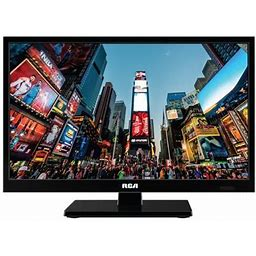 Rca Home And Travel 24 Inch 720p HD TV - With Ac/dc Car Charger Rt2471-ac, Black