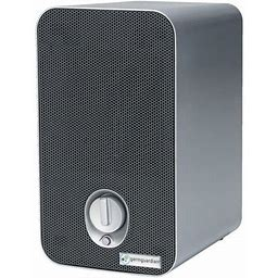 Germguardian Air Purifier With True Hepa Filter, Uv-C Light Kills Germs Ac4100 11-Inch, Size: Table Top Tower, Silver